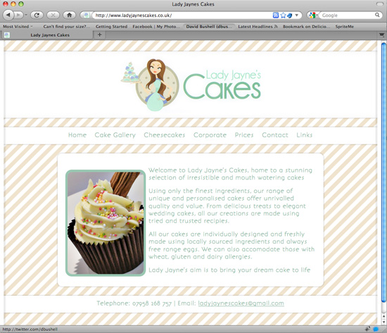 Lady Jaynes Cakes - new