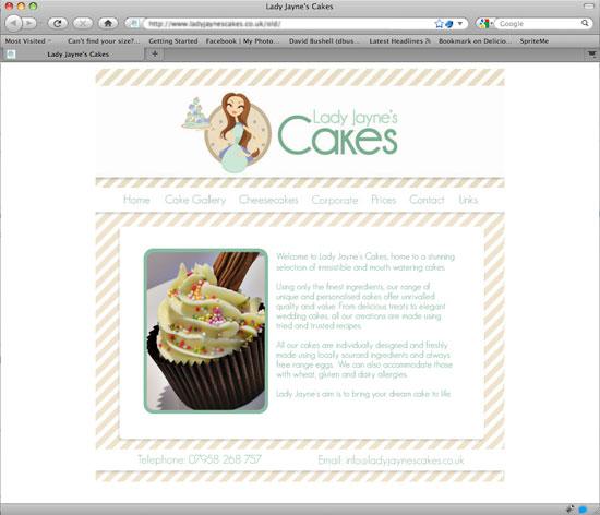 Lady Jaynes Cakes - old