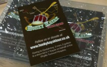 Honky Kayak Tour Business cards
